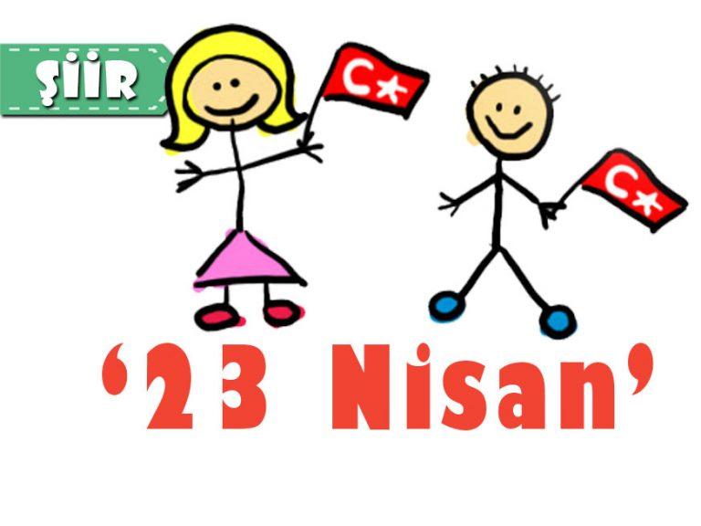 23 Nisan Çocuk Şiiri