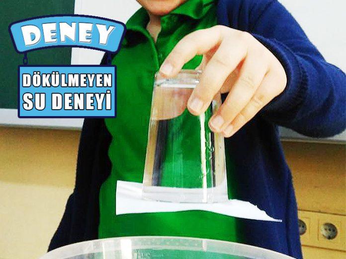 Bardaktan Dokulmeyen Su Deneyi Kolay Deneyler Cocuk Gezegeni