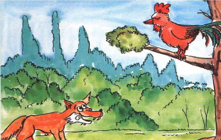Köpek, Horoz ve Tilki Masalı - Kısa Masal Oku ve Dinle