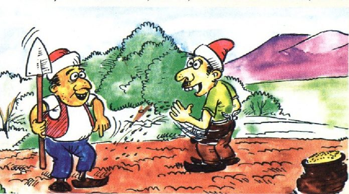 Çiftçi ve Oğulları Masalı - Dinle www.cocukgezegeni.com