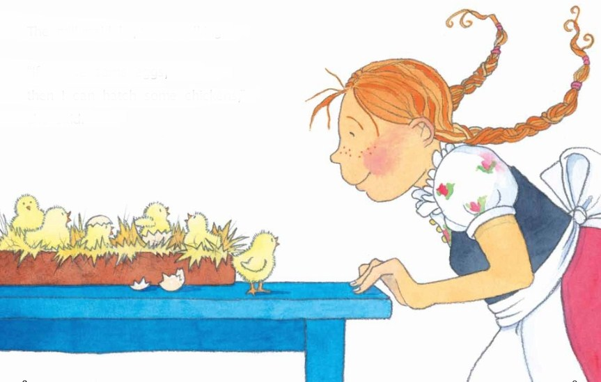 Sütçü kızın masalı - www.cocukgezegeni.com