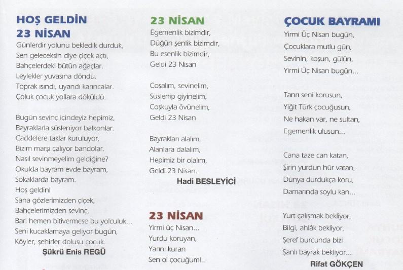 23 nisan şiirleri-23 nisan gösterileri-23 nisan bayramı