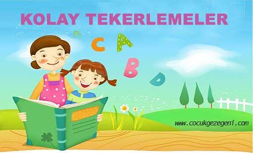 Tekerlemeler çocuklar Için Dil Gelişimi Sağlayan Kısa Ve