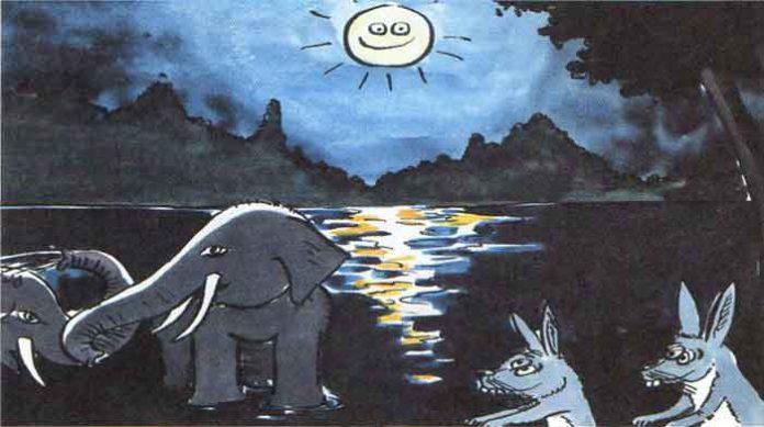 Tavşanlarla Filler Masalı Oku | Fabl Dinle
