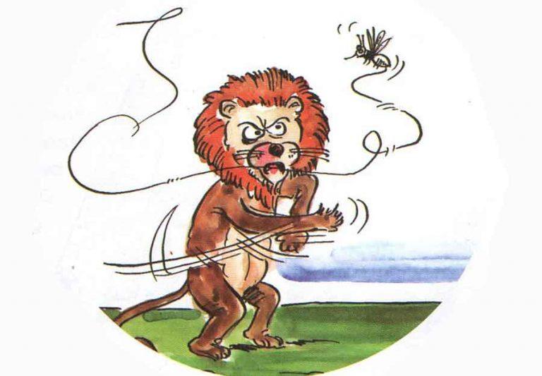 Aslan ile Sivrisinek Masalı   Uzun Masallar Oku ve Dİnle