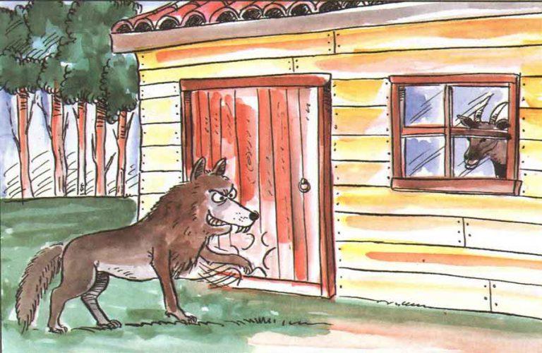 Keçi Yavruları ve Kurt Masalı Dinle   Hayvan (fabl) Masalları