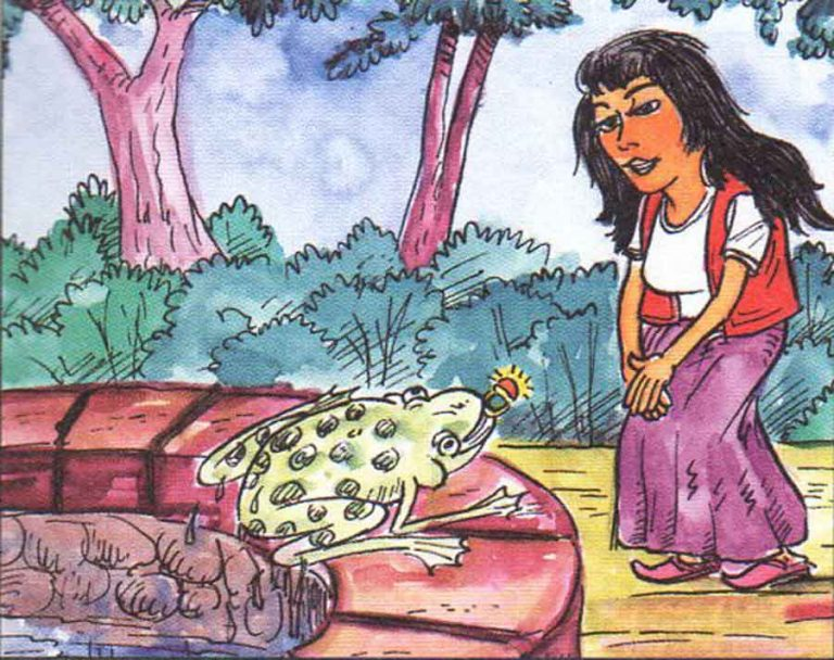 Kurbağa Prens Masalı (farklı versiyon) Uzun Masal Oku ve Dinle