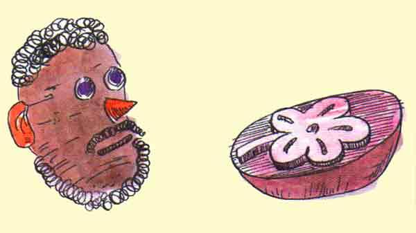 Patatesten Kafa ve Patates Baskisi Yapma Etkinklikleri-Okul oncesi-Nasil-Yapilir-Etkinlikleri-Egitici-ve-ogretici-Yapilacak-Sosyal-Aktiviteler