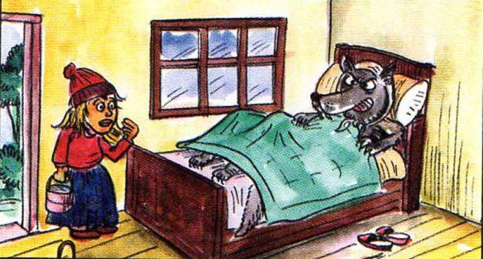 kirmizi baslikli kiz masali oku ve dinle-sonu Farkli Versiyon-Fabl-uzun masallar anaokulu uyku masali